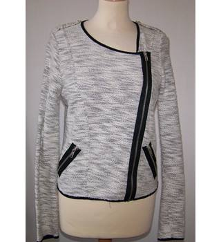 River Island - Size: 10 - Grey - Casual jacket / coat