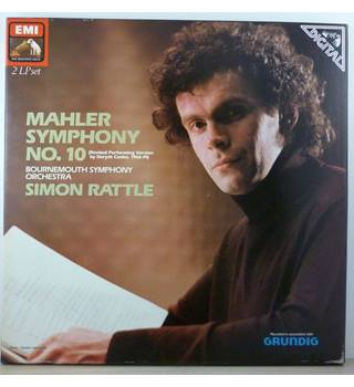 Mahler - Symphony No. 10 (Revised Performing Version) - Bournemouth Symphony Orchestra conducted by Simon Rattle - SLS 5206