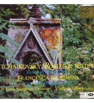 Tchaikovsky, Saint Louis Symphony Orchestra ‎– Romeo And Juliet (Fantasy Overture) / Francesca Da Rimini (Fantasy After Dante)