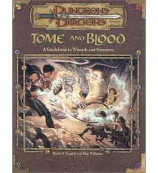 Tome and blood Dungeons and Dragons 3rd Ed