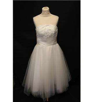 Viva Bride - Size: 12 - White - A-line wedding dress