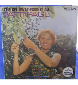 Patti Page: Let's Get Away from it All - Patti Page WL1104