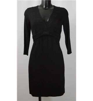 Boden - Size 8A - Black with pleated waist dress