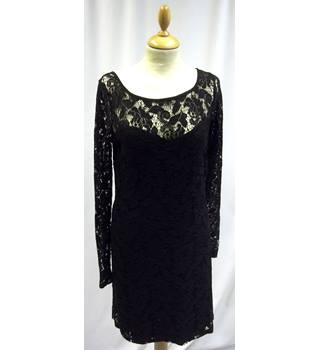 Great Plains - Size: S - Black - Knee length dress