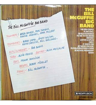 The Bill McGuffie Big Band - Bill McGuffie ‎ - ZS 130