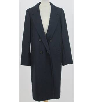 NWOT M&S Autograph Size: 14 Navy Blue Coat