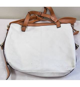 Unbranded - Size: L - Cream / ivory - Top handle bag
