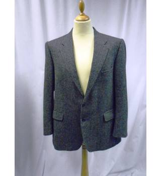 Saville Row Gieves & Hawks - Size: L - Herringbone Jacket