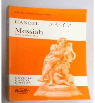 G.F. HANDEL : MESSIAH (WATKINS SHAW) - PAPERBACK EDITION VOCAL SCORE