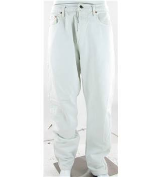 "Levi Strauss Size: 36"" White Jeans"