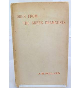Odes From The Greek Dramatists