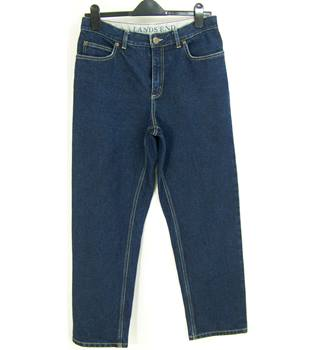 Lands End - Size: 12 Petite - Blue - Jeans