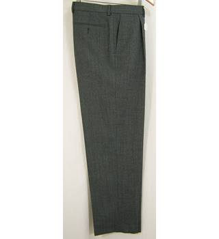 "M&S Marks & Spencer - Size: 34"" - Grey - Trousers"