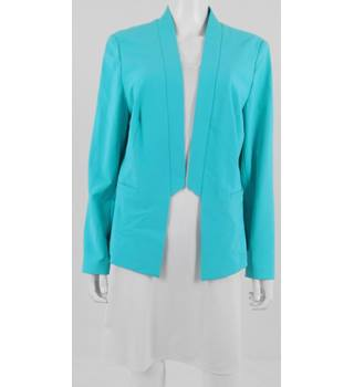 M&S Size 18 Aqua Blue Jacket