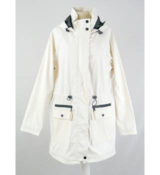 Marks & Spencer - Size: 12 - Cream - Raincoat