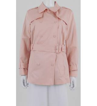 M & S Collection Size 16 Petite Pink Short Mac