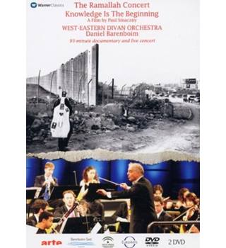 50% OFF SALE The Ramallah Concert Knowledge is the Beginning by Paul Smaczny Documentary and Concert Daniel Barenboim E