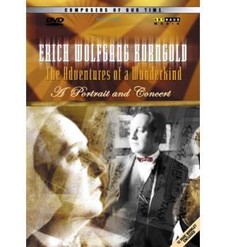 50% OFF SALE VERICH WOLFGANG KORNGOLD THE ADVENTURES OF A WUNDERKIND DVD E