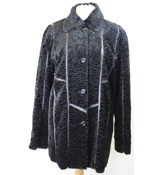 Julia S. Roma - Size: 16 - Black - Smart jacket / coat