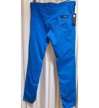 "Just Cavalli - Size: 34"" - Blue - Chinos"