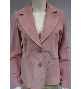 New Look - Size 14 - Rose Pink - Suede - Jacket