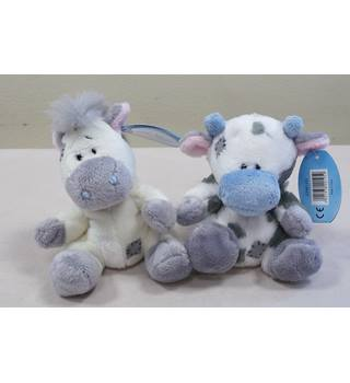 "Pair of Blue Nose Friends 4""- #21 Milkshake and #22 Bobbin Me to You"