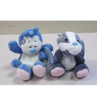 "Pair of Blue Nose Friends 4""- #25 Bracken and #26 Dot Me to You"