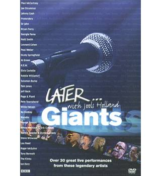 Later with Jools Holland - Giants BBC DVD Exempt