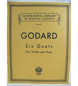 Godard, Benjamin - Six Duets for Two Violins and Piano.