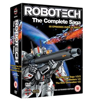 ROBOTECH THE COMPLETE SERIES 12