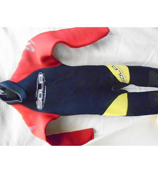 Red Sola Kid's Wet Suit Sola Sports - Size: Extra Small - Red