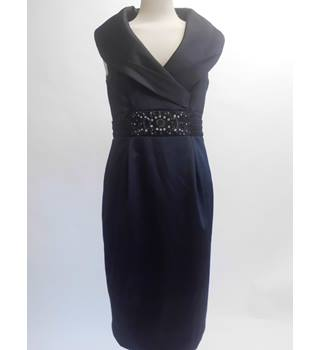 Eliza J Size:12 Black Dress With Crystal Detail Waist