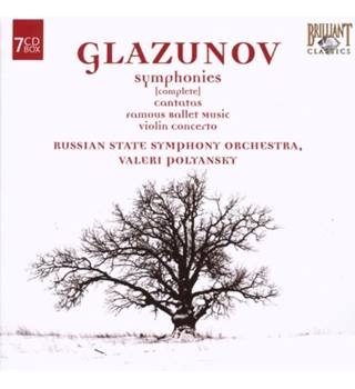 Symphonies (complete) Russian State Symphony Orchestra 7 CD box set