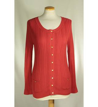 Country Casuals - Size: S - Red - Cardigan