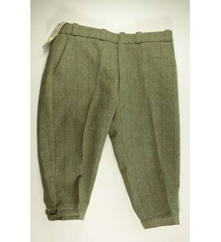 BNWT Hebden - Size: 40 - Green - Plus Four Trousers