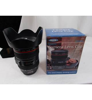 Novelty Camera Lens Cup Sentik