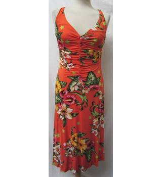 Karen Millen - Size: 10 - Multi-coloured - Strapless dress