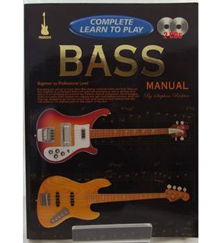 Complete Learn To Play. BASS Manual with 2 CDs