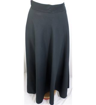 "Gor-Ray 28"" Waist Black Vintage Skirt"