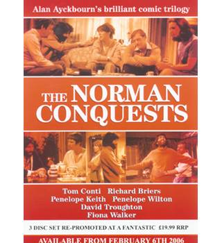 THE NORMAN CONQUESTS THE COMPLETE SERIES PG