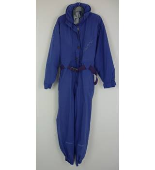 "Pheonix Size: 12, 35.5"" chest Distant Blue Cold/Ski Thermal Lined Polyester Gortex Suit"