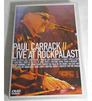 PAUL CARRACK LIVE AT ROCKPALAST DVD Non-classified