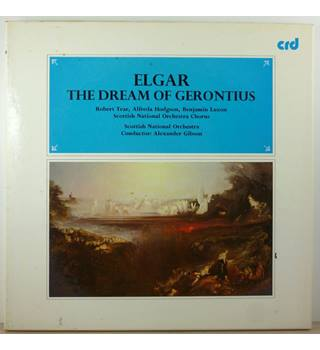 Elgar ‎– The Dream Of Gerontius - INC. RARE NOVELLO - Scottish National Orchestra and Chorus, Alexander Gibson - CRD 1026