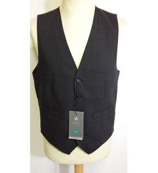 M&S mens charcoal grey waistcoat 36-38 regular BNWT M&S Marks & Spencer - Size: S - Grey