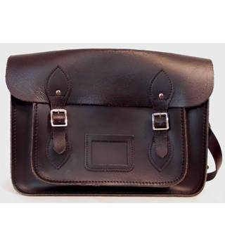Black Leather Satchel by 'The Cambridge Satchel Company'