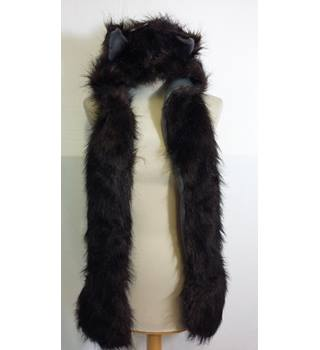 Faux fur husky hat and scarf BNWT Autumn Faith - Size: One size - Brown