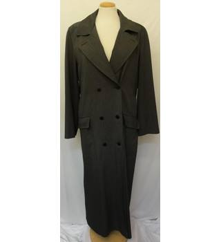 Wallis - Size: 12 - Charcoal Long Coat