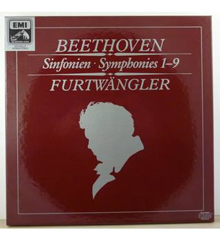 Beethoven - Symphonies 1-9 - AMAZING 6 LP Box Set - Wiener Philharmoniker conducted by Wilhelm Furtwängler, - 29 0660 3