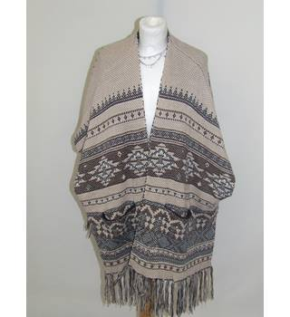 50% OFF SALE New Look Poncho Style Top New Look - Brown - Smock top