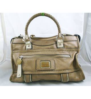 Guess Beige Handbag with Removable Shoulder Strap